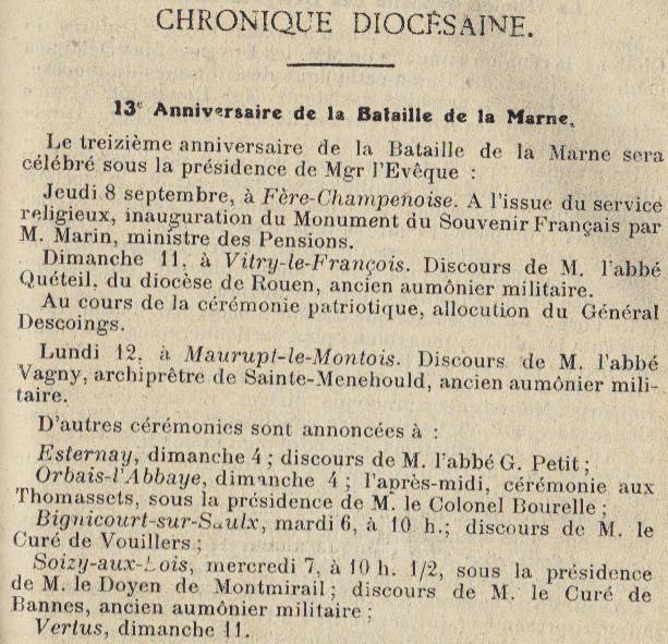 Cérémonies commémoratives Annive10