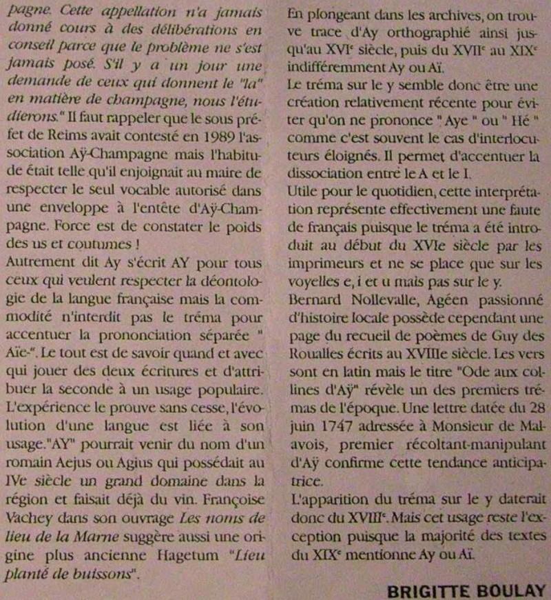 Comment prononcer AY : Articles de Presse Ay_etc12