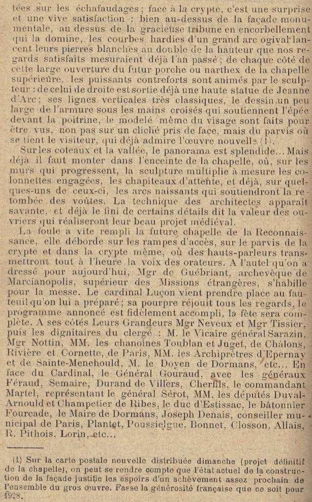 Chapelle-Mémorial des Batailles de la Marne Fete_111
