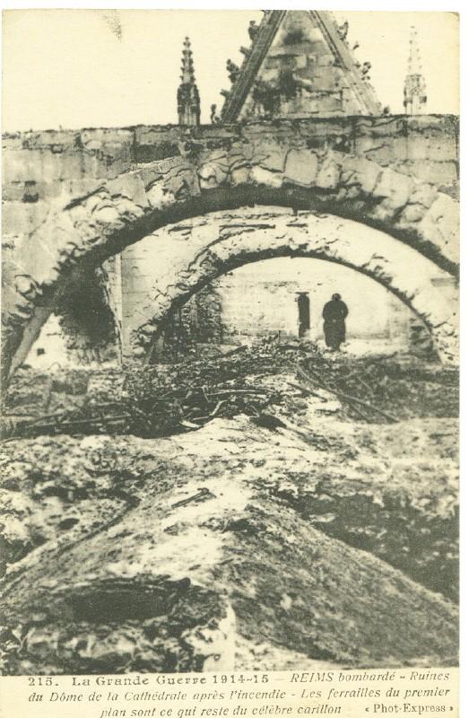 Le Bombardement de la Cathédrale Reims_10