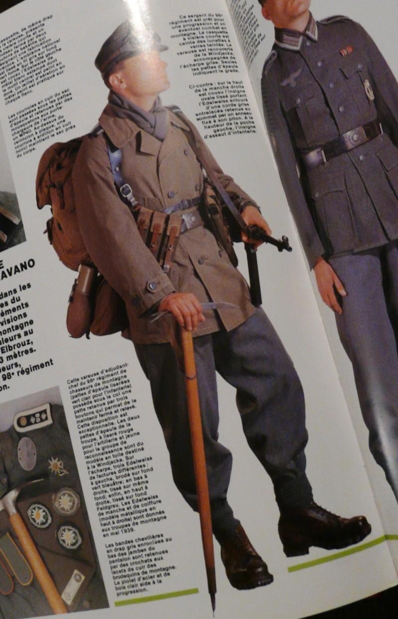 german Gebirsjäger WW II  bust P1180510