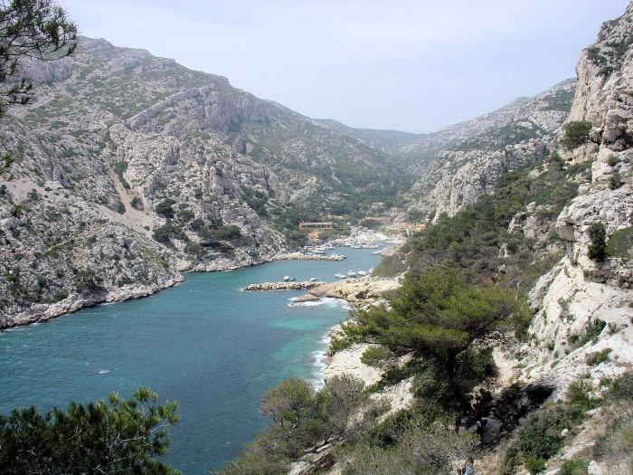 Cassis sur Mer et La Ciotat Bouches du Rhône Calanq10
