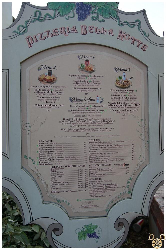 Bella Notte (Disneyland Parc)  Dsc05920