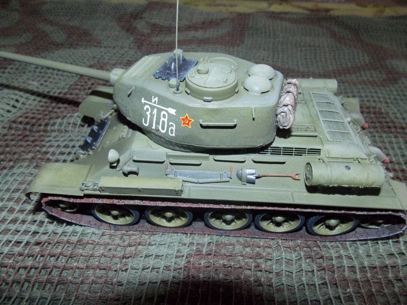 T34/85  bedsping armor  T34-8104