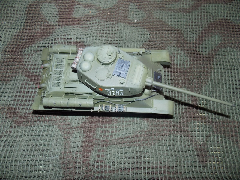 T34/85  bedsping armor  T34-8106