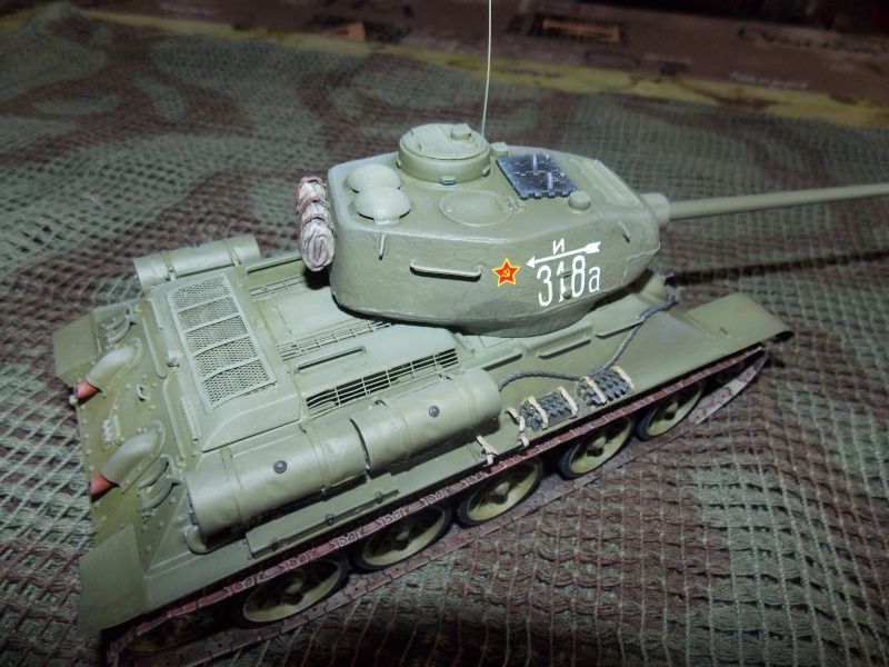 T34/85  bedsping armor  T34-8108