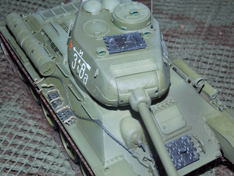 T34/85  bedsping armor  T34-8109