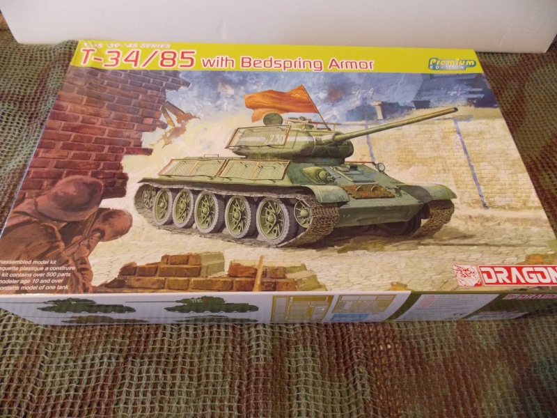 T34/85  bedsping armor  T34-8523