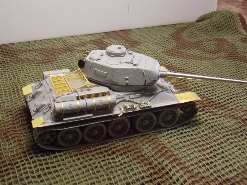 T34/85  bedsping armor  T34-8545