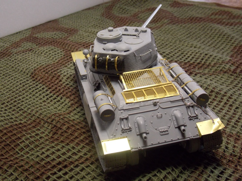 T34/85  bedsping armor  T34-8546