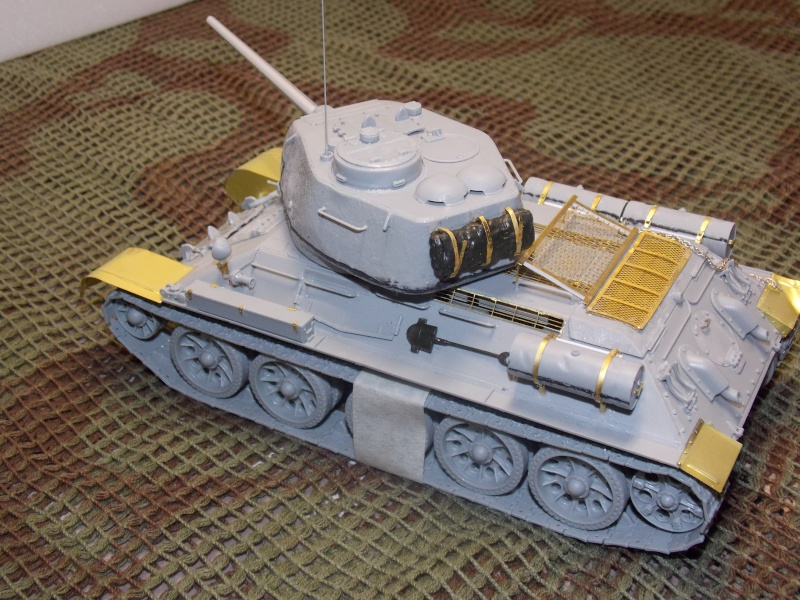 T34/85  bedsping armor  T34-8547