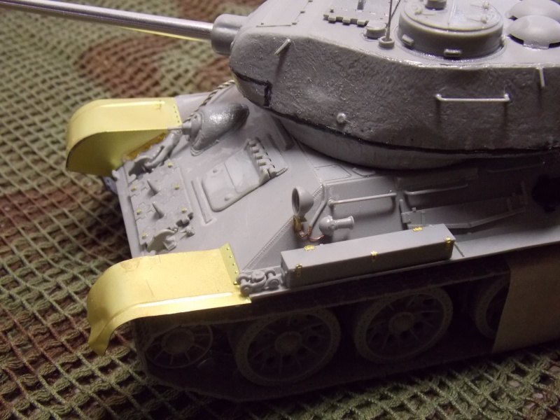 T34/85  bedsping armor  T34-8548