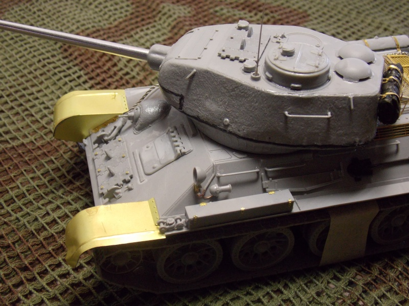 T34/85  bedsping armor  T34-8549