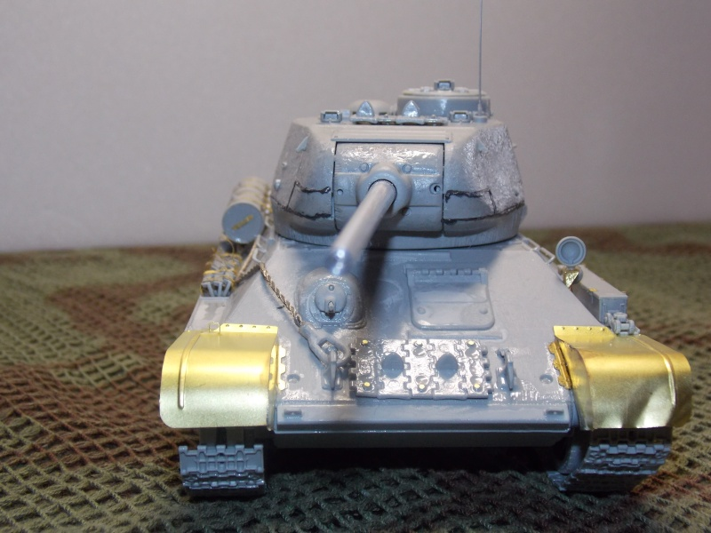 T34/85  bedsping armor  T34-8551