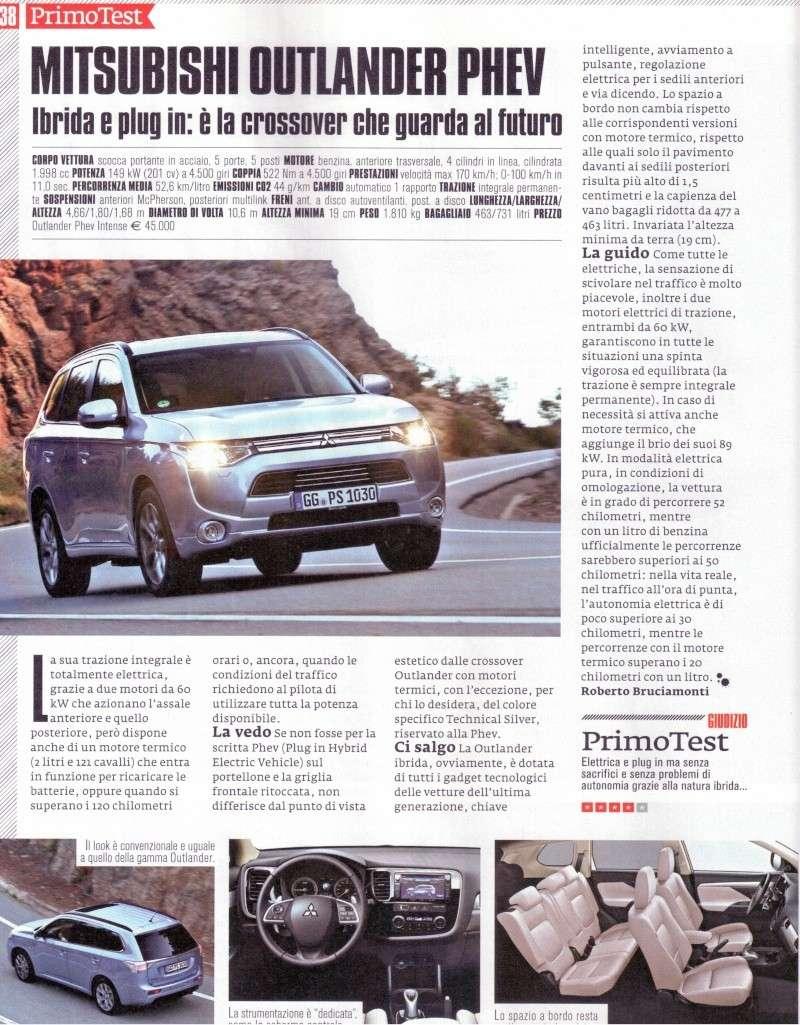 phev - Auto & Fuoristrada 3/2014 - Outlander PHEV Phev10