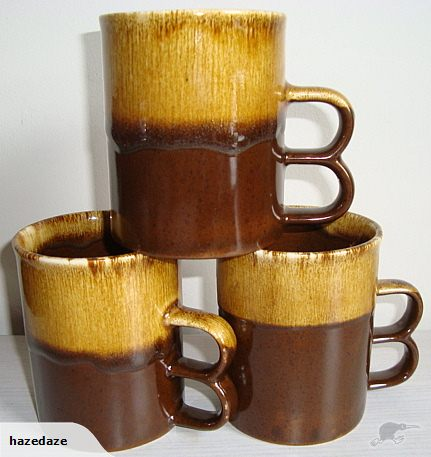 1064 Double Handle Coffee mugs courtesy of Hazlette. 106410