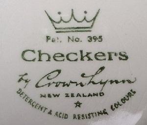 Checkers Pat.No. 395 Checke12