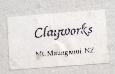 Clayworks NZ impressed mark for GALLERY Claywo12