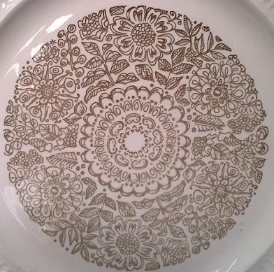 Kelston Potteries Fernleigh d213 Fernle10
