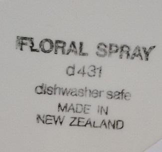 Floral Spray d431 Floral11