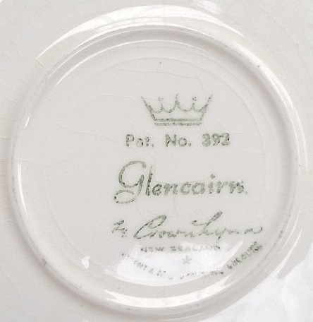 Glencairn Pat.No.392 from the early 1960's !!! Glenca12