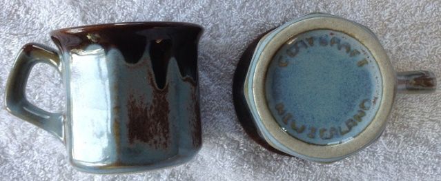 Cups - stamped Made In New Zealand - These must be Clay Craft Jeremy10