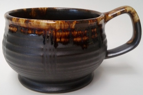This has to be a four digit shape !!!  And it is a 1192 and a 1176 Fork Scraped Goblet Mug  Mug_ri10