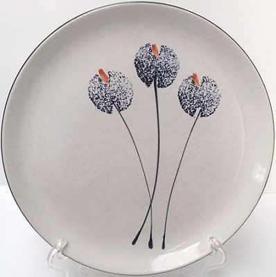 Temuka plate with distinctive pattern - Wildflower Temuka10