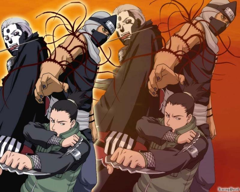 HIDAN y KAKUZO tacan la aldea se sta poniendo interesante al anime opines q les parece :D Shikam10