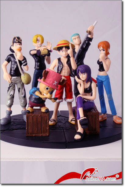 les figurines one piece!! Equipa10