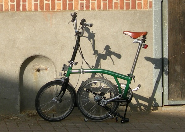 On a volé mon brompton Brompt17