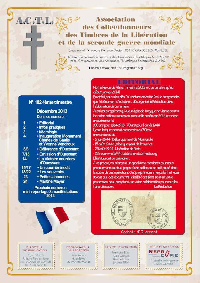 LA REVUE N° 182 4° TRIMESTRE 2013 1are_d10