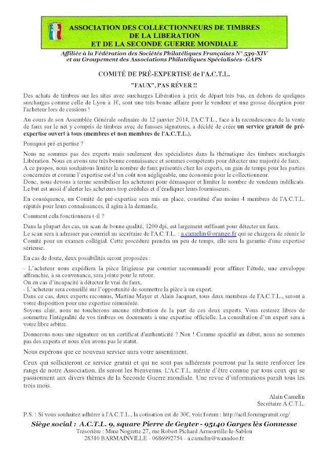 UNE INITIATIVE DE L'ACTL Commun12