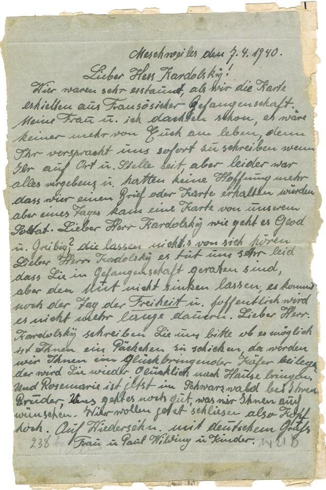 Prisonniers de guerre allemand 1939/40 en France. Pg_0210