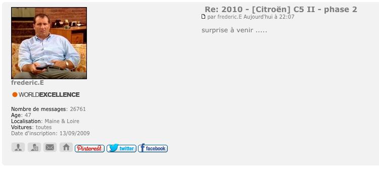 [SUJET OFFICIEL] Citroën C5 II phase III - Page 5 Captur23