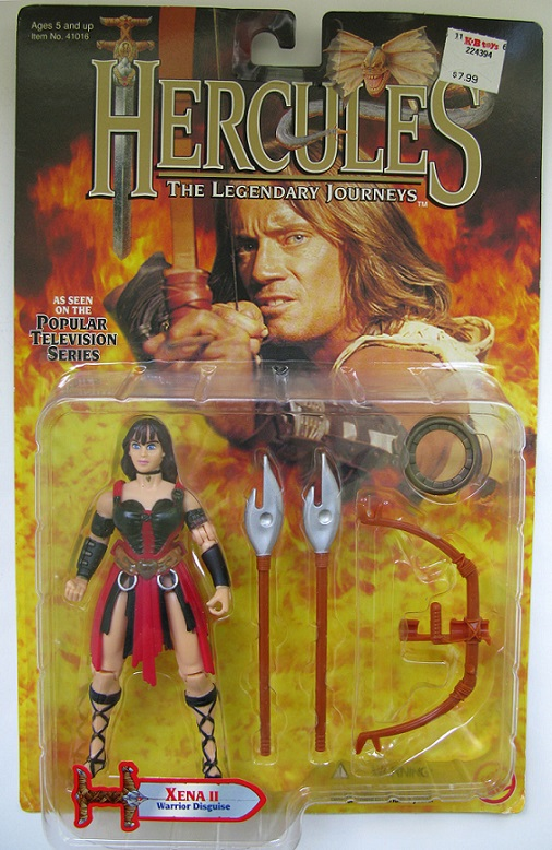 HERCULES - LEGENDARY JOURNEYS (Toybiz) 1995-1997 0613