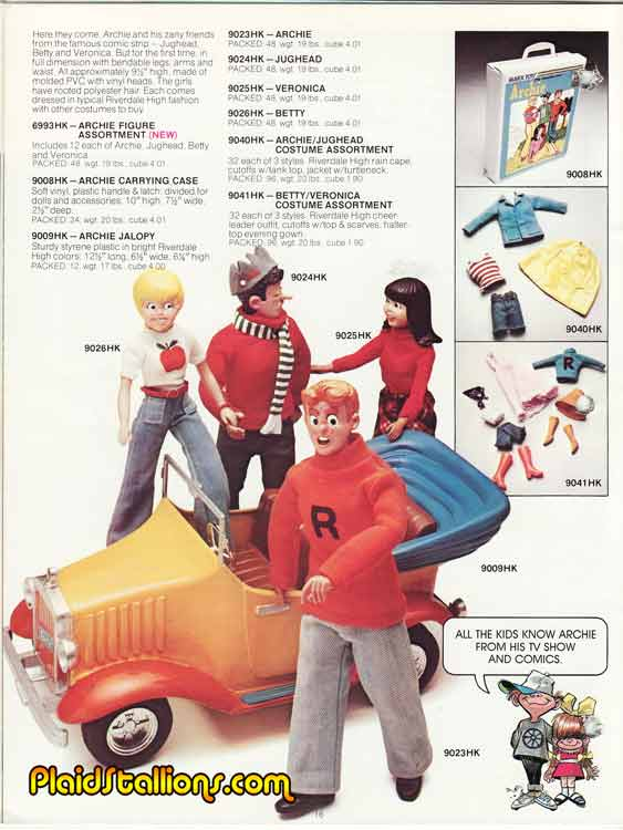 THE ARCHIES (Marx Toys) 1975 1410