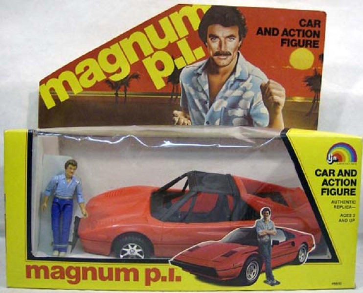 MAGNUM P.I (LJN) 1983 Magnum11