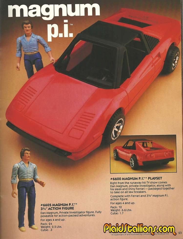 MAGNUM P.I (LJN) 1983 Magnum12