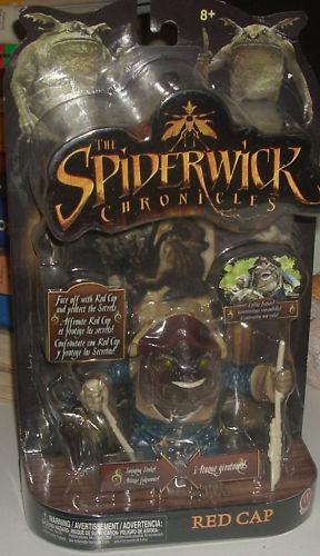 LES CHRONIQUES DE SPIDERWICK (Irwin Toy) (McDonald) 2007 Spider17