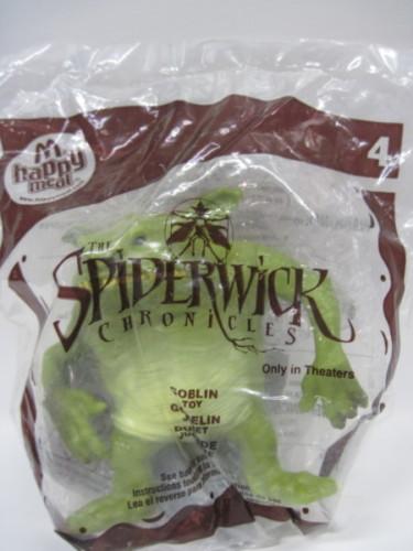 LES CHRONIQUES DE SPIDERWICK (Irwin Toy) (McDonald) 2007 Spider23
