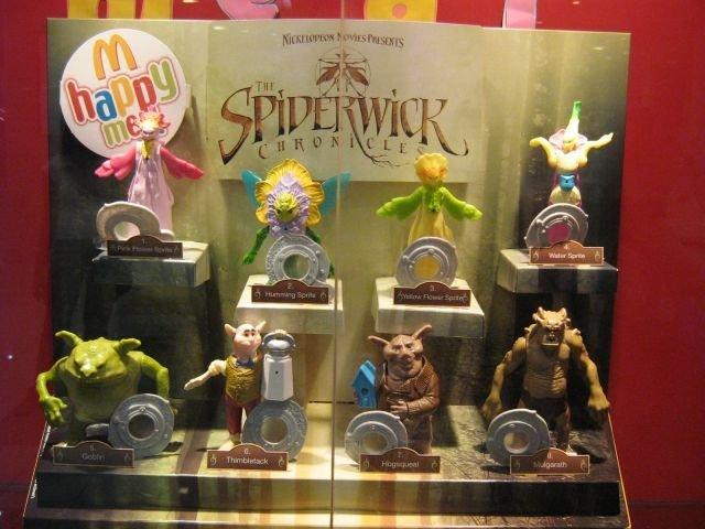 LES CHRONIQUES DE SPIDERWICK (Irwin Toy) (McDonald) 2007 Spider28