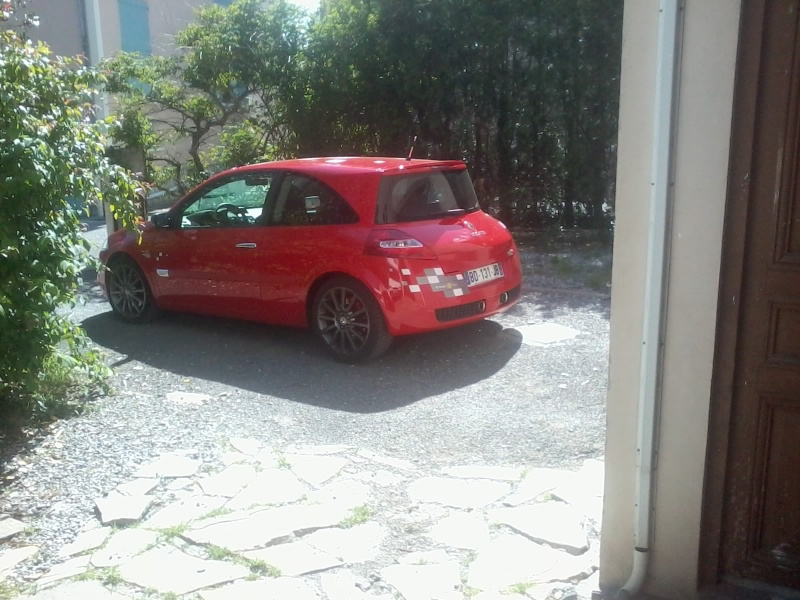 [Bencitrouille] megane rs r26 rouge toro numéro 3115 20140511