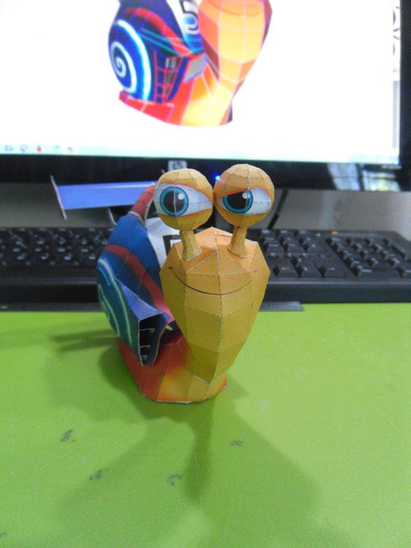 TURBO, l'escargot de course Turbo010