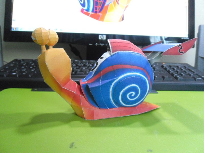 TURBO, l'escargot de course Turbo012