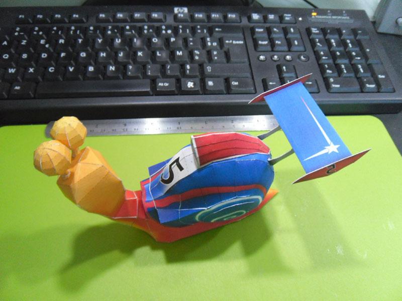 TURBO, l'escargot de course Turbo013