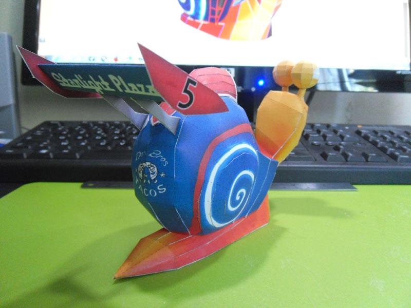 TURBO, l'escargot de course Turbo014