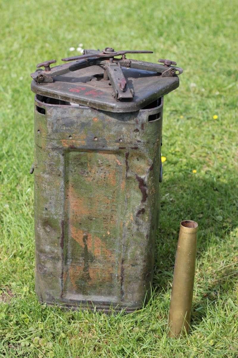 Container (3 tons?) pour du 40mm Bofors 110