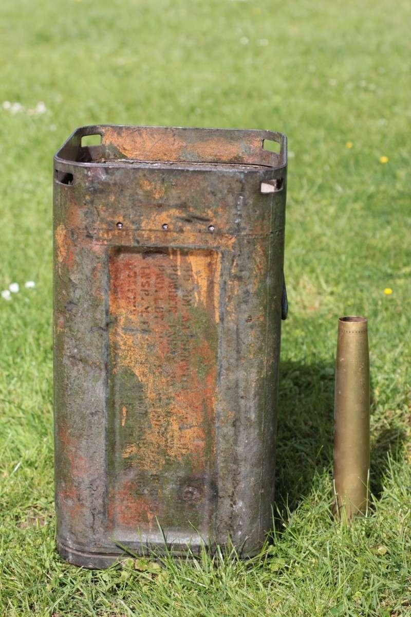 Container (3 tons?) pour du 40mm Bofors 210