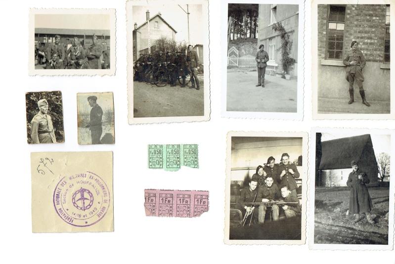 Gros lot de documents et photos Chasseurs Ardennais, de l'us et des livres. Chasse15
